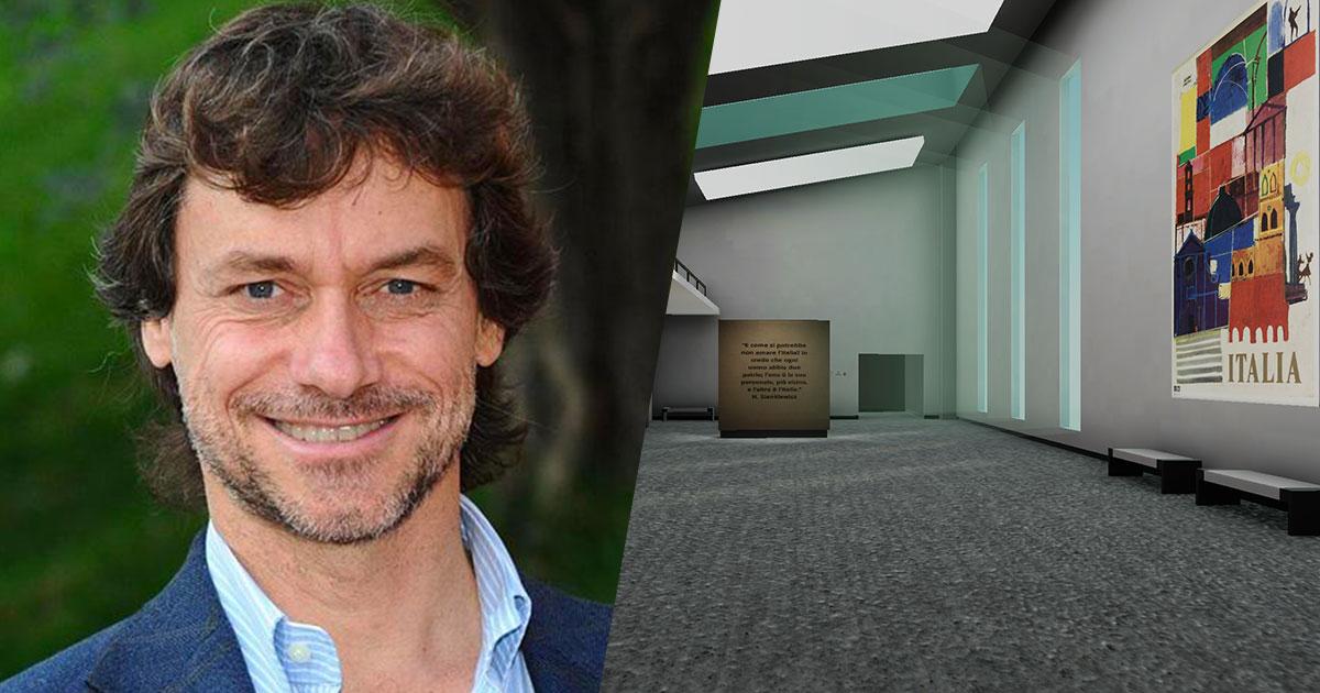 Alberto Angela e l'Agenzia del Turismo lanciano il primo tour virtuale sull'Italia ritrovata