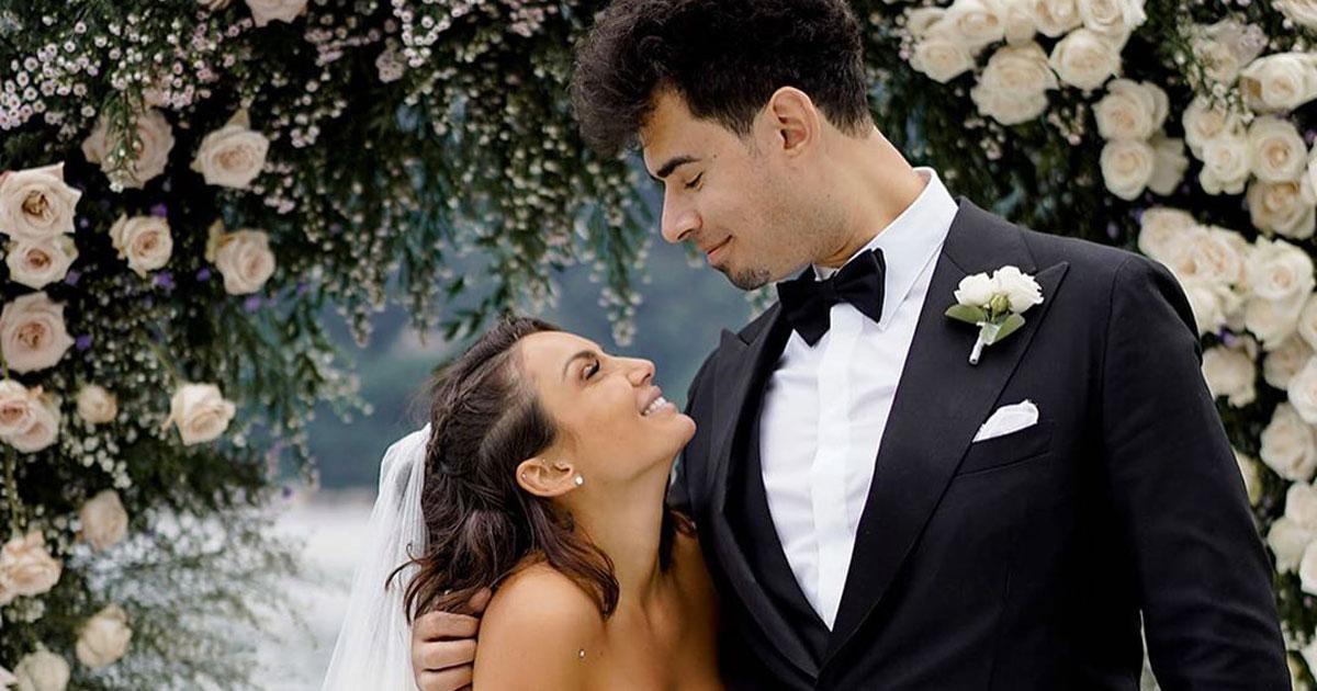 Dagli abiti da sposa al taglio della torta: le foto del matrimonio di Elettra Lamborghini