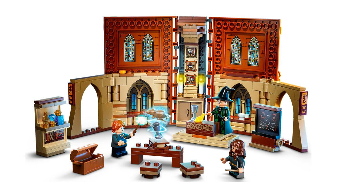 Harry Potter: i nuovi set Lego dedicati alle classi di Hogwarts sono magici