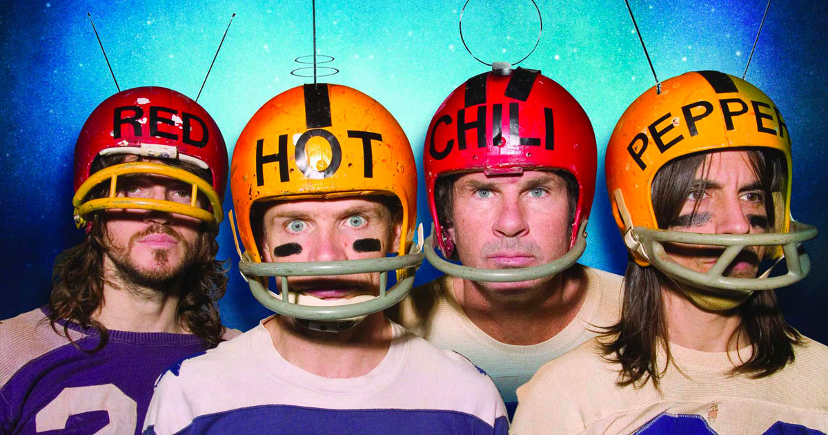 I grandi della musica: Red Hot Chili Peppers