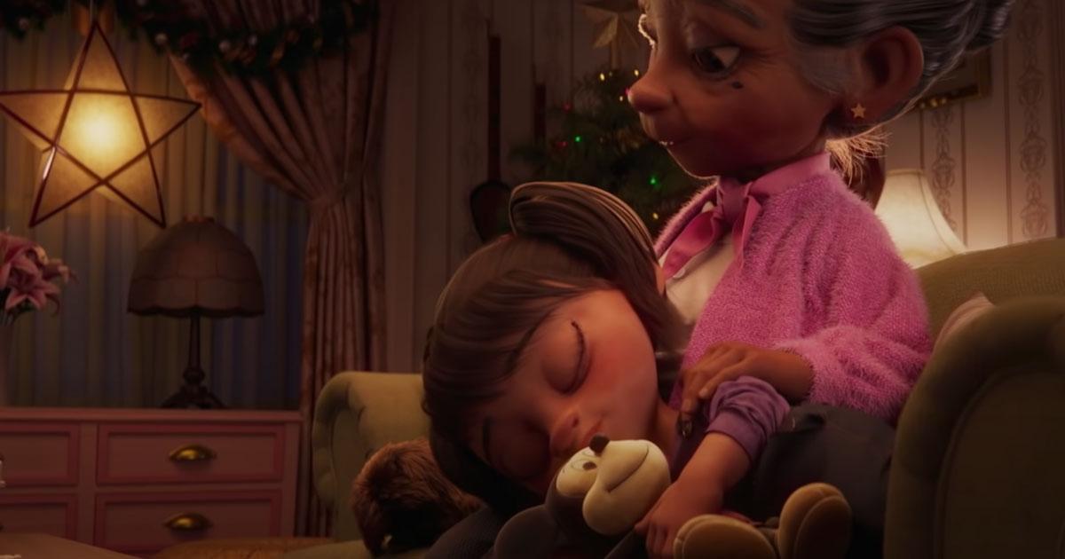 I nonni e l'importanza delle tradizioni: lo spot di Natale di Disney vi commuoverà