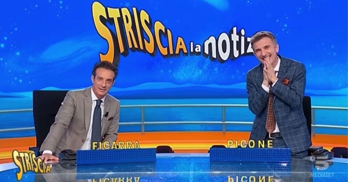 """Valentino Picone è tornato a """"Striscia la notizia"""": ecco la poesia per il nostro Sergio Friscia"""