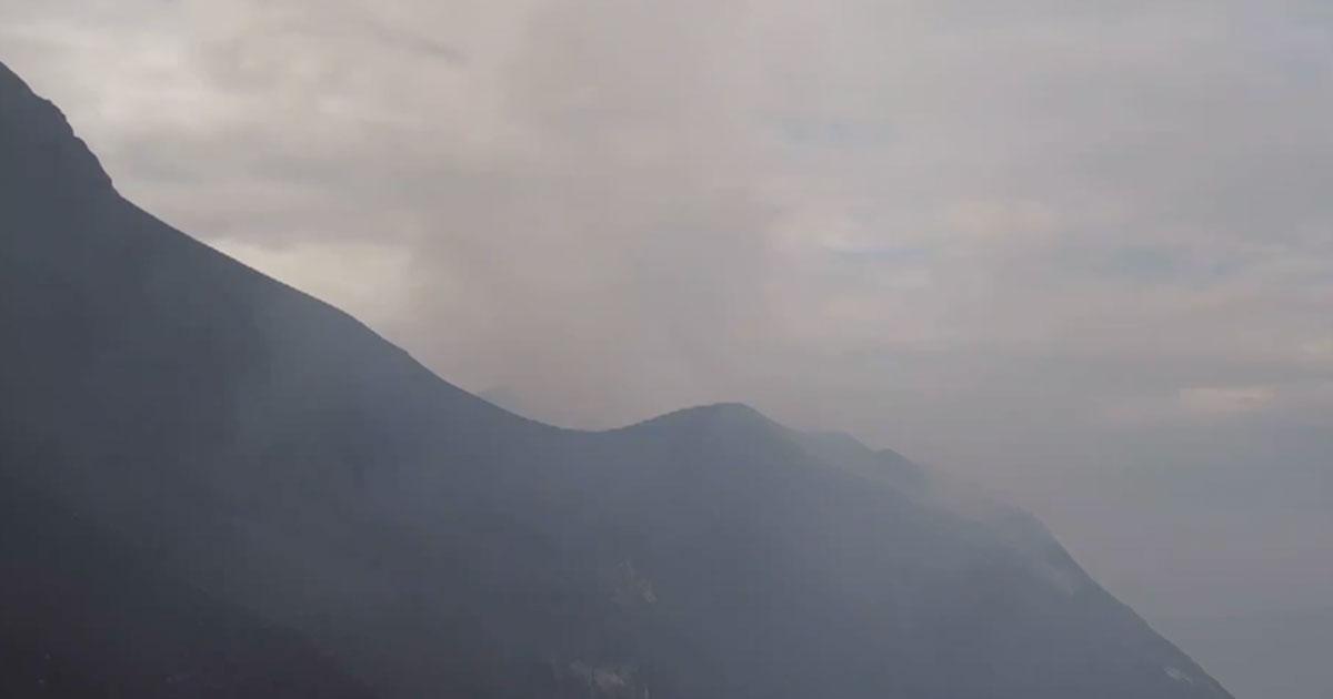 Nuova esplosione del vulcano a Stromboli: ecco le immagini