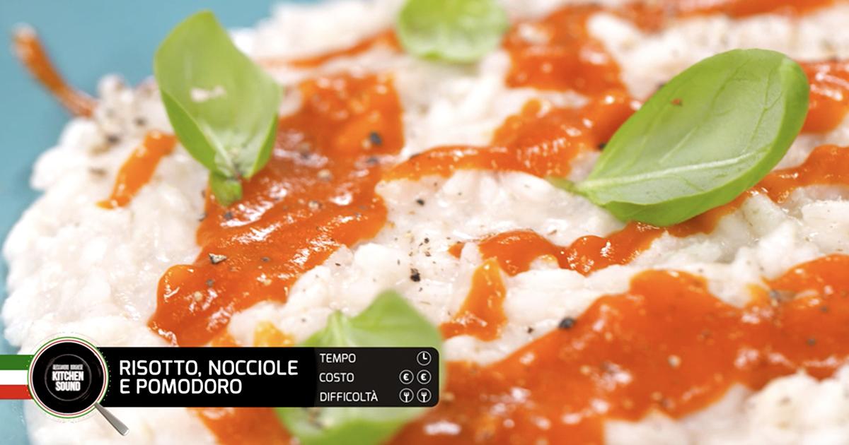 RISOTTO, NOCCIOLE E POMODORO  - Alessandro Borghese Kitchen Sound - Green