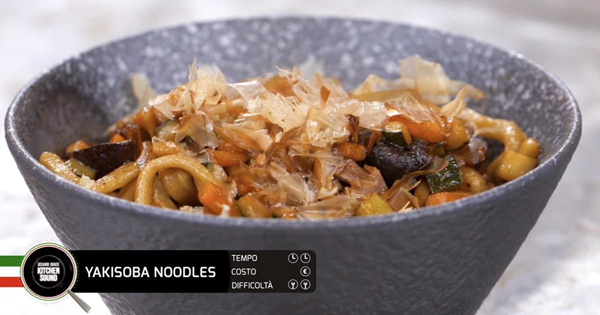 Yakisoba Noodles - Alessandro Borghese Kitchen Sound - Sol Levante