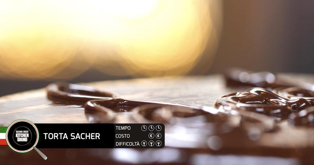 TORTA SACHER - Alessandro Borghese Kitchen Sound - Chocolate
