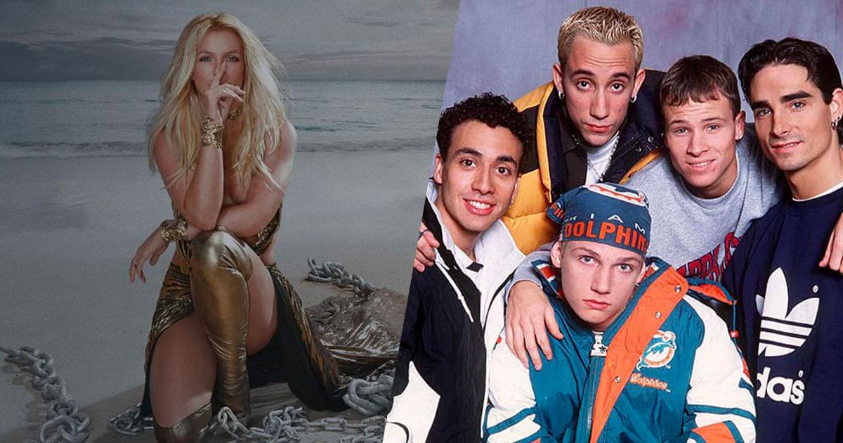 È uscito il nuovo singolo di Britney Spears insieme ai Backstreet Boys