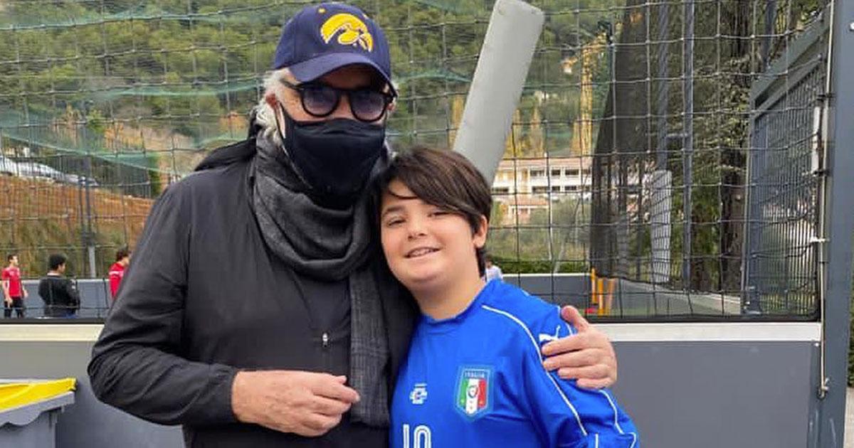 Body shaming contro il figlio di Flavio Briatore: ecco la sua risposta su Instagram