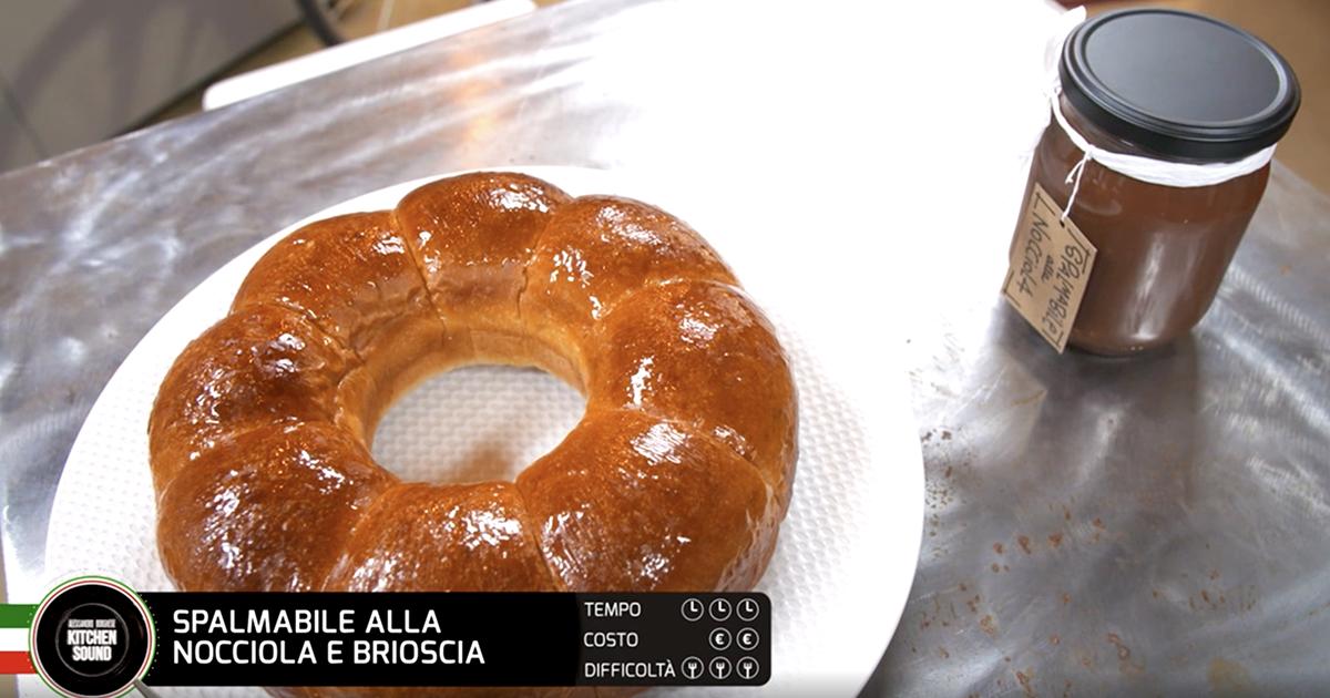 Spalmabile alla nocciola e brioscia - Alessandro Borghese Kitchen Sound - I profumi del forno