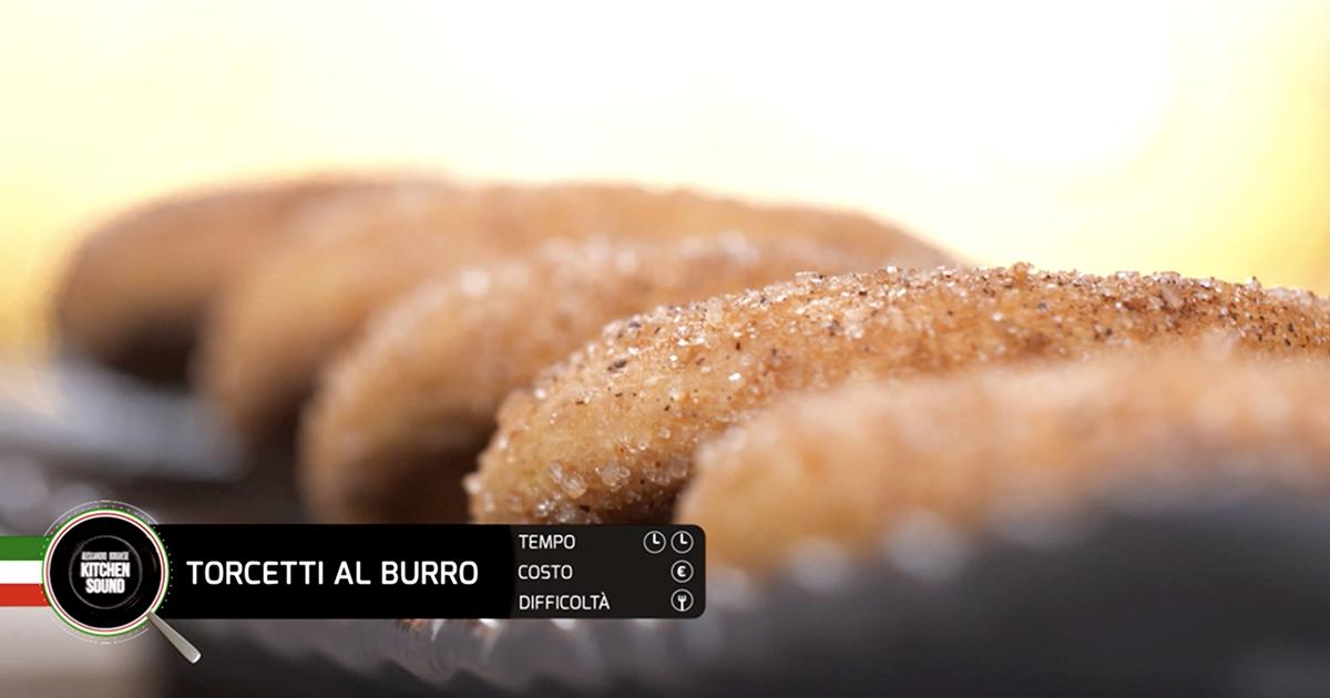 Torcetti al burro - Alessandro Borghese Kitchen Sound - I profumi del forno
