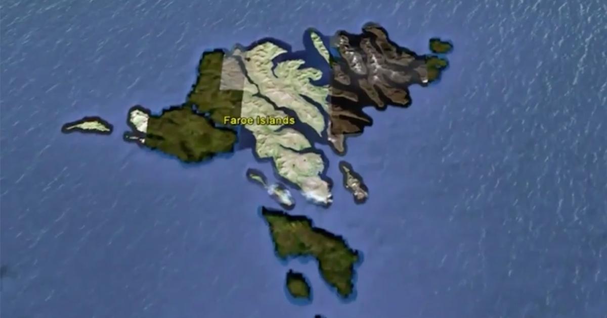 Un mega tunnel sottomarino collegherà le isole Faroe in Danimarca