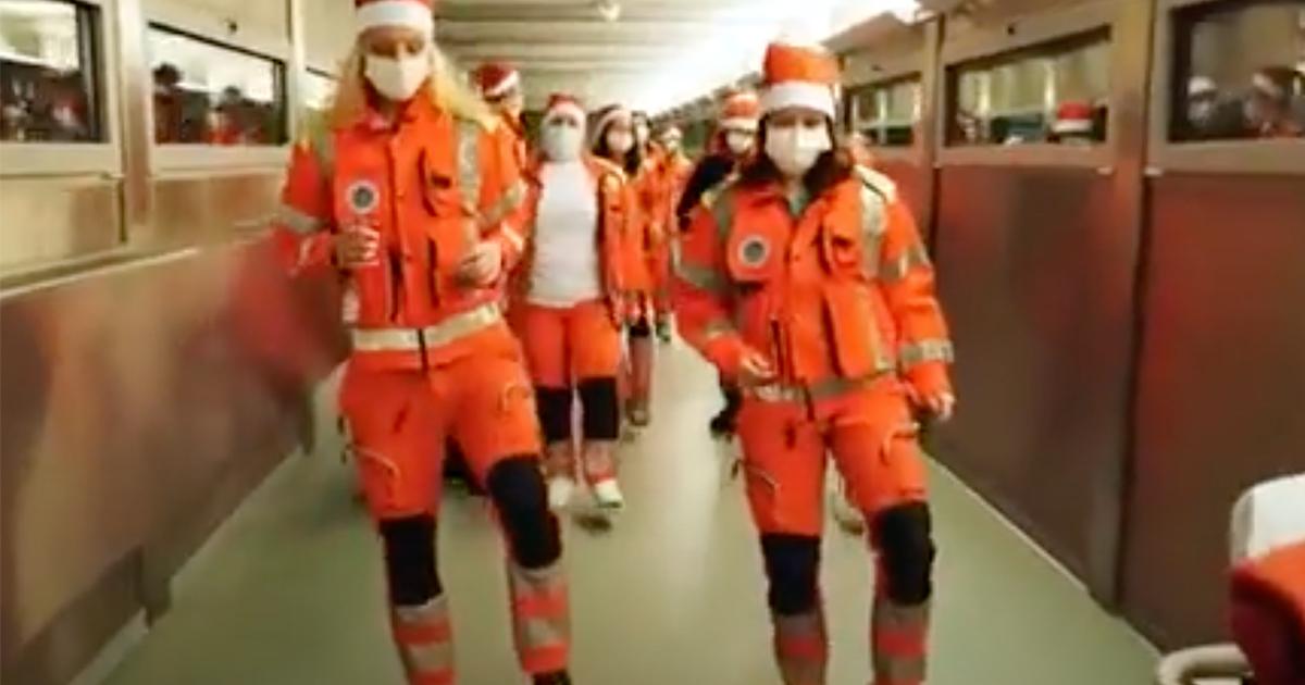 Medici e infermieri ballano Jerusalema: il video dall'ospedale di Merano