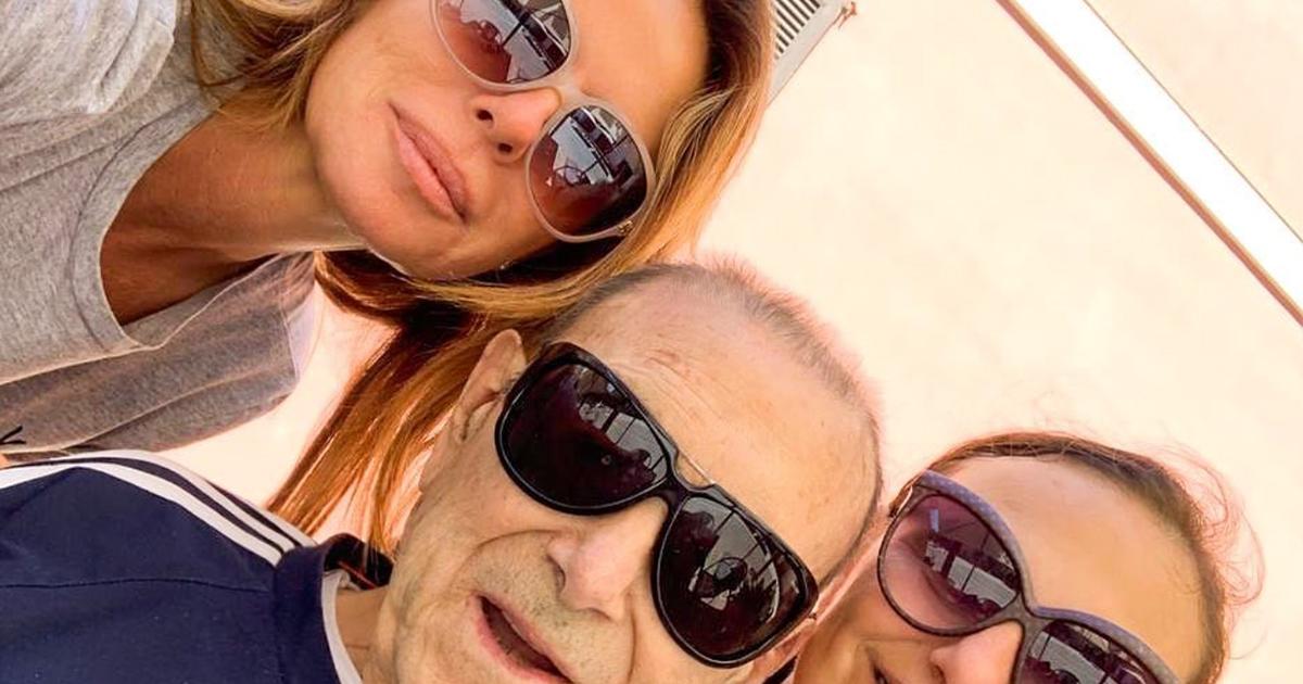 Coronavirus: lutto per Paola Perego, ha perso il papà