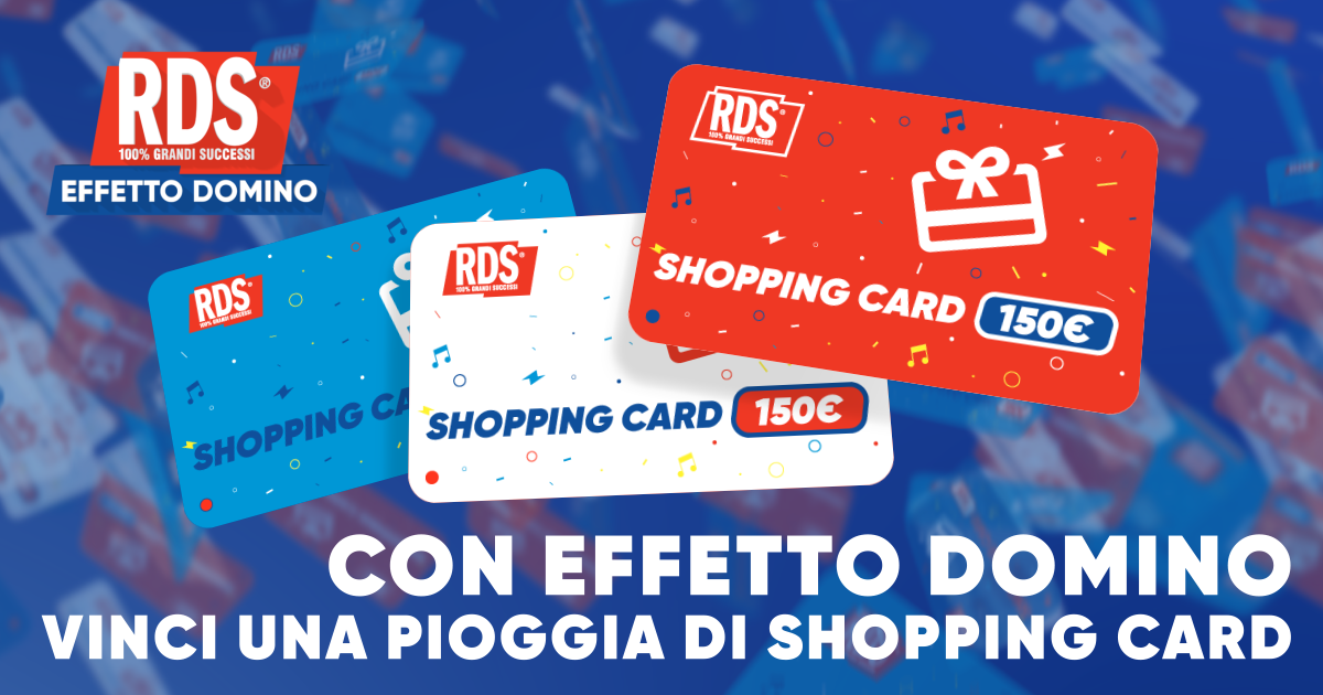 Effetto Domino: Shopping Card