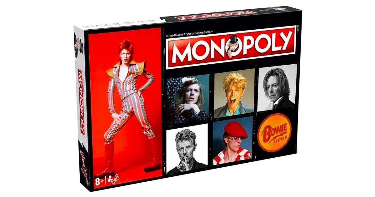 A cinque anni dalla sua scomparsa, ecco il Monopoly dedicato a David Bowie