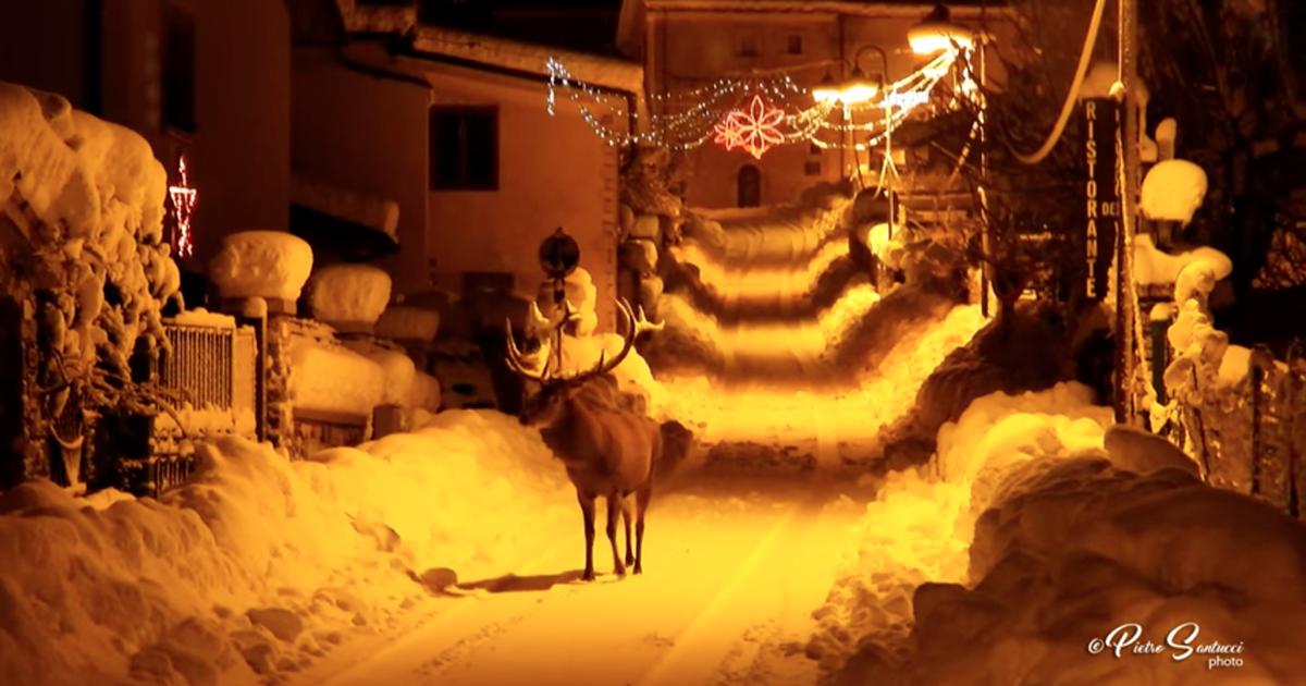 La magia del Natale in un video emozionante che arriva dall'Abruzzo