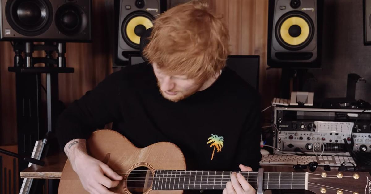 Ed Sheeran: la versione acustica di 'Afterglow' è una meraviglia