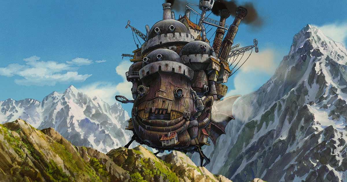 Stanno costruendo una riproduzione gigante del Castello errante di Howl