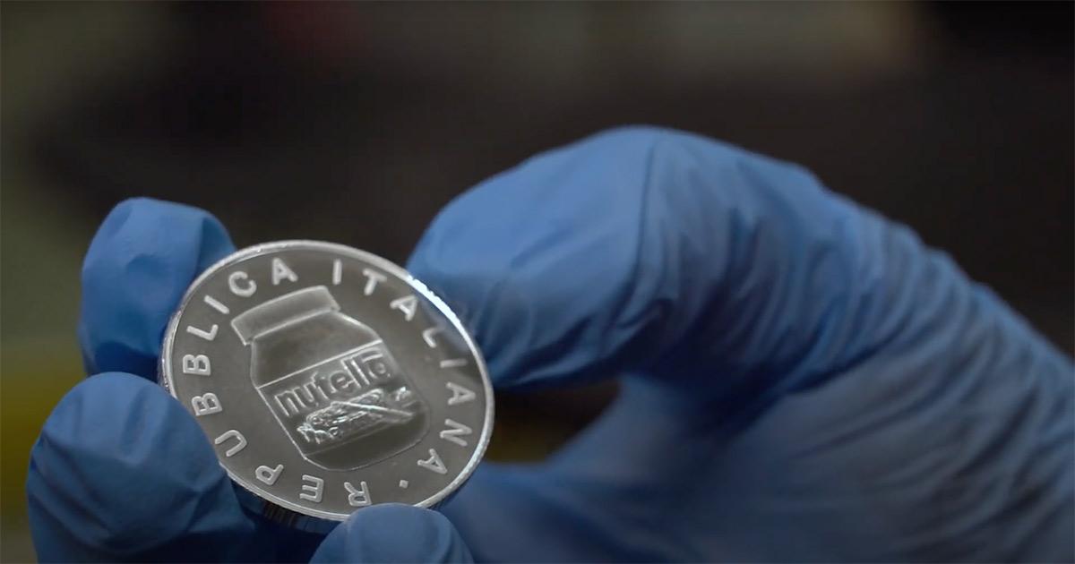 Grande successo per le monete d'argento dedicate alla Nutella: cifre folli su Ebay
