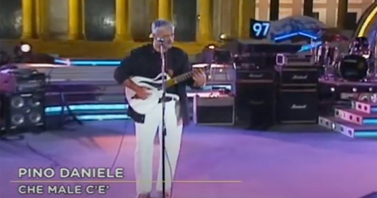 Pino Daniele: la bellissima 'Che male c'è' compie 24 anni