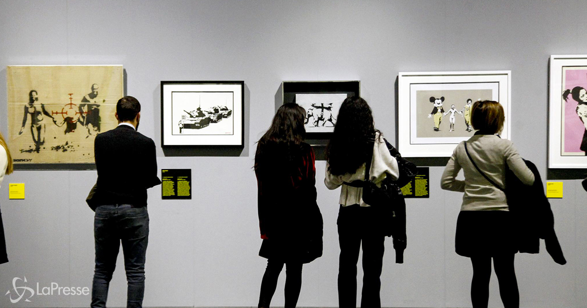 'Game Changer': l'opera di Banksy sarà battuta all'asta per aiutare gli ospedali britannici