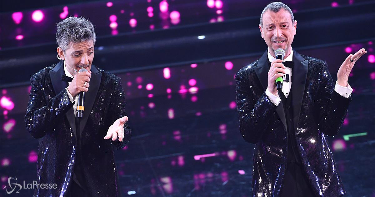 La classifica dopo la seconda serata di Sanremo: in testa un nuovo numero uno