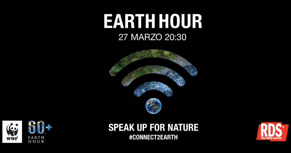Earth Hour 2021: i consigli per aiutare il pianeta. RDS sarà radio partner  dell'evento | RDS 100% Grandi Successi
