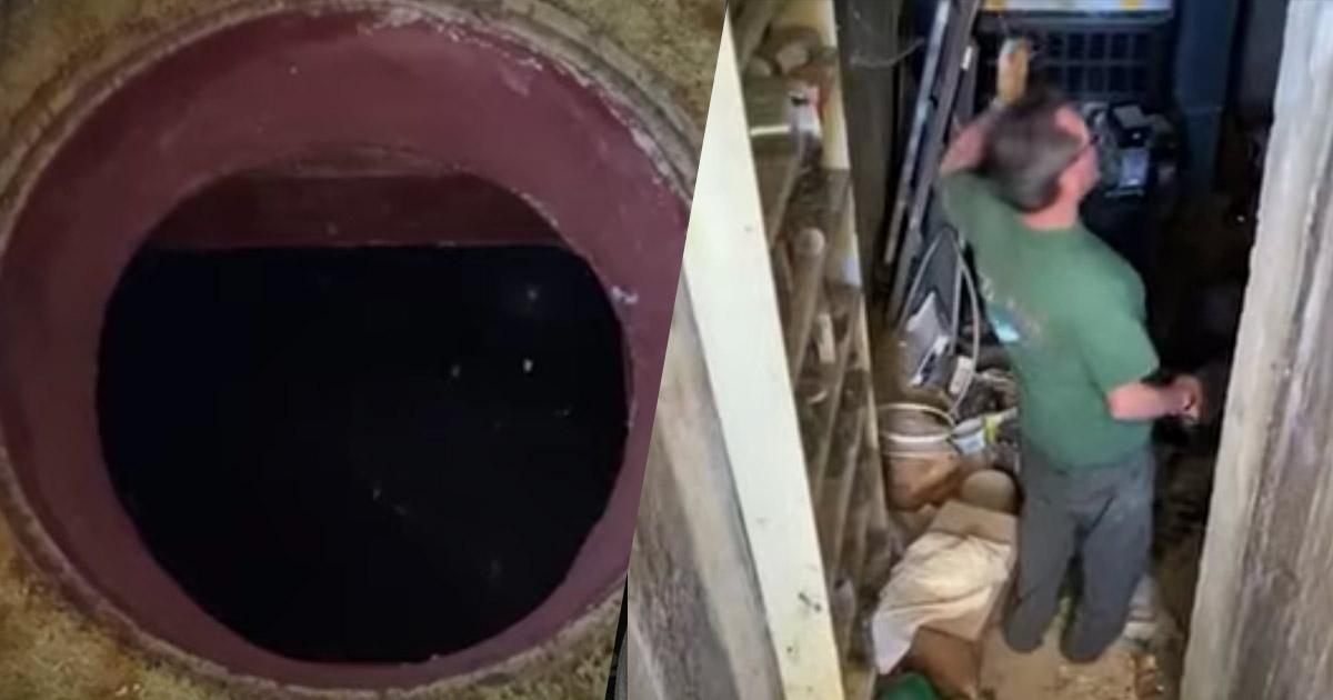 Questa donna ha scoperto un rifugio antiatomico sotto la sua camera da letto