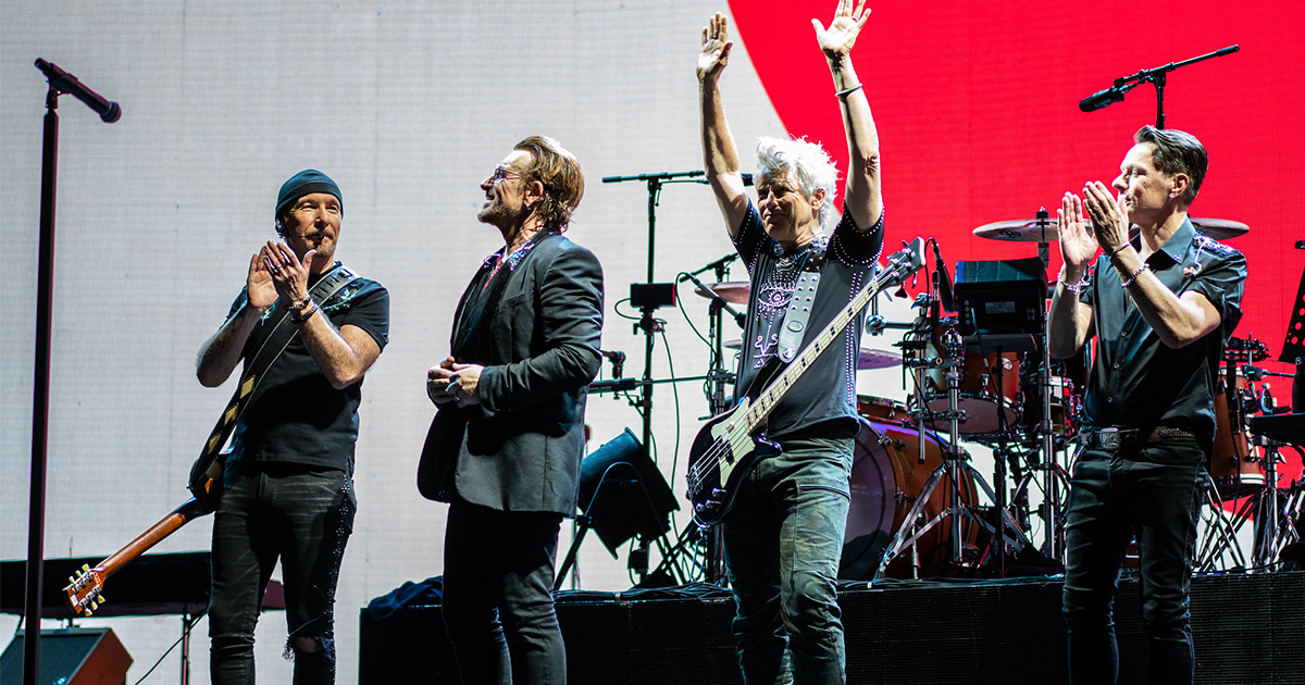 U2, i concerti storici della band saranno online: ecco quando