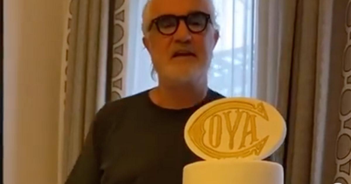 Flavio Briatore mostra la torta del suo compleanno: ecco la reazione dei follower su Instagram