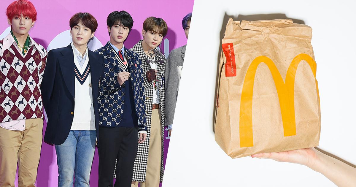 BTS: la boy band si fonde con McDonald's, arriva il BTS Meal