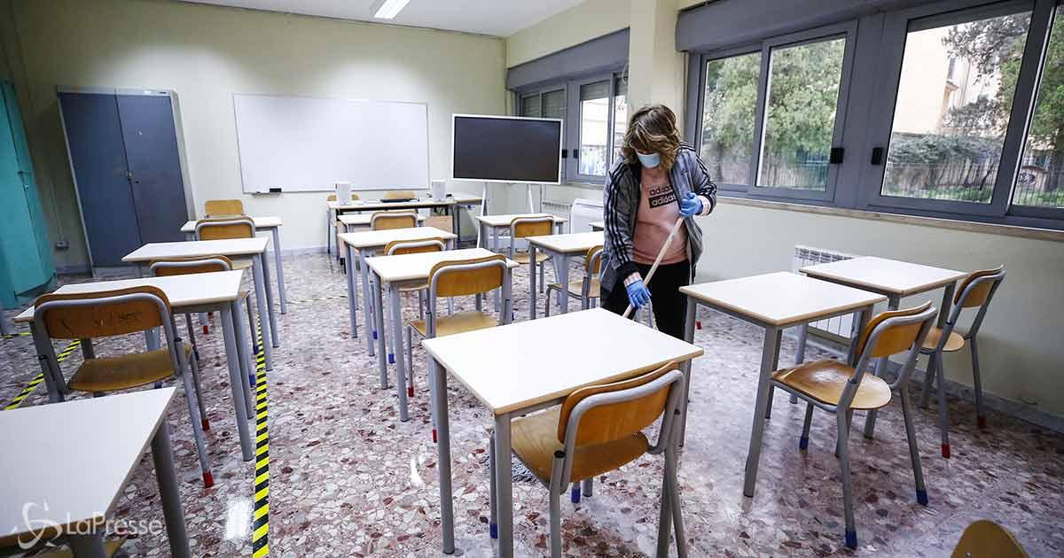 Scuola: da lunedì il 60% degli studenti delle superiori torna in aula