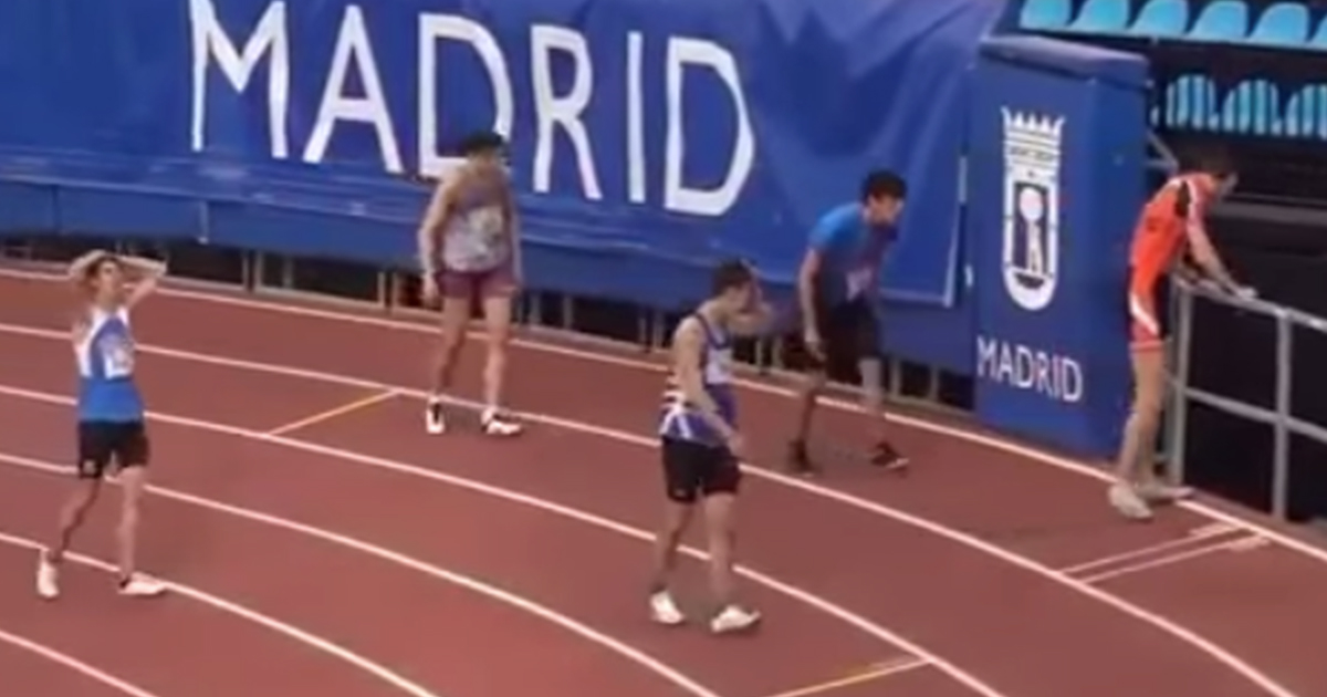 Dove finisce l'atleta centometrista dopo la gara? Il finale è esilarante