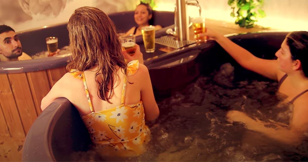 Apre a Bruxelles la prima spa interamente dedicata alla birra
