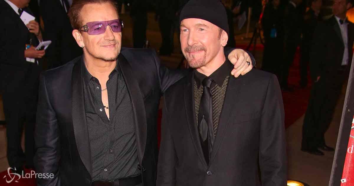 Bono e The Edge degli U2 in vacanza in Toscana: ecco il video