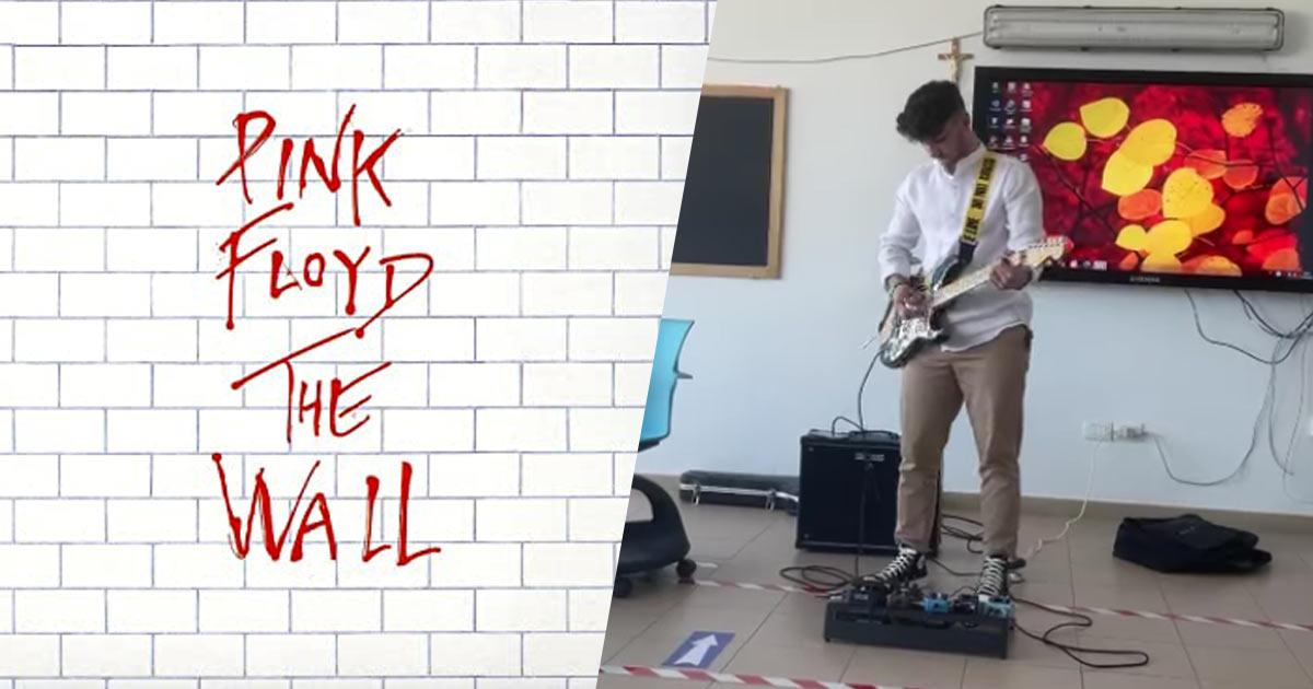 """Suona """"Comfortably numb"""" dei Pink Floyd all'esame di maturità: ecco la reazione dei professori"""