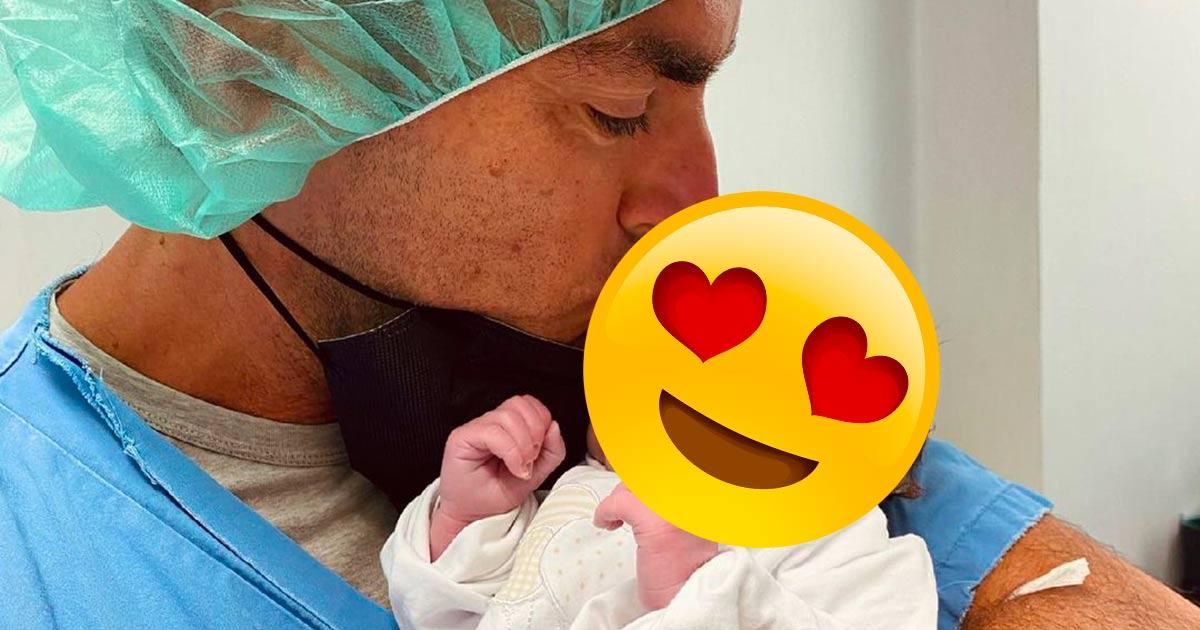 È nata Alice, la prima figlia di Gabry Ponte: ecco le foto
