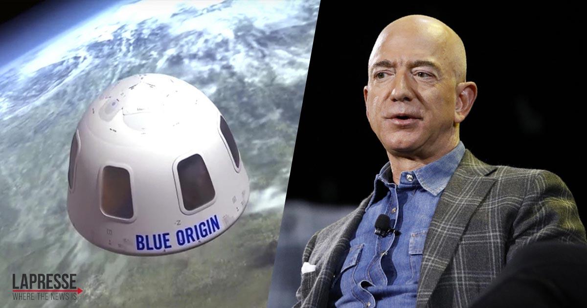 Oggi Jeff Bezos partirà per lo spazio: ecco come seguire la diretta in streaming