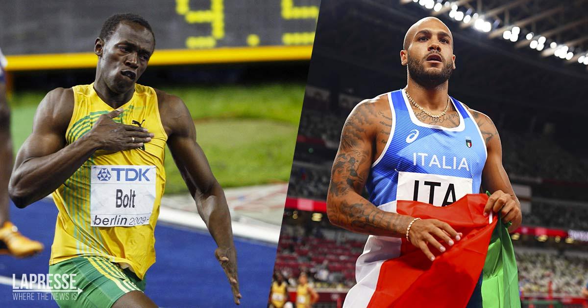 """Usain Bolt si complimenta con Marcell Jacobs: """"oggi l'erede è lui"""""""