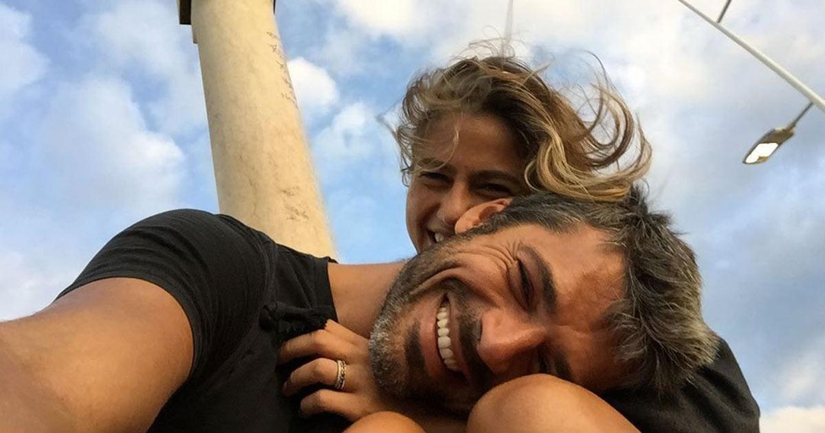 Luca Argentero e Cristina Marino pubblicano una dolcissima foto della figlia Nina Speranza