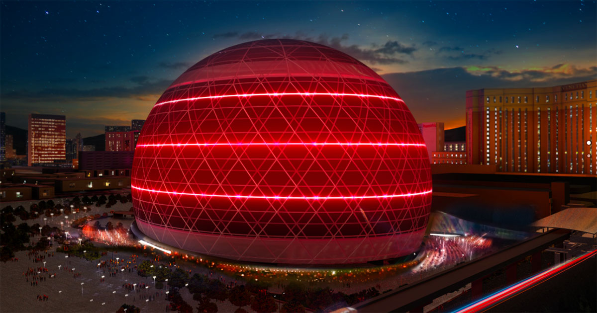 In costruzione il teatro più tecnologico del mondo: è il Madison Squadre Garden Sphere