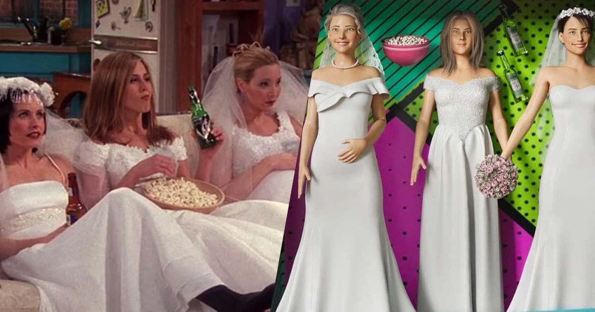 Ross, Monica, Joey, Chandler, Rachel e Phoebe in versione giocattolo: ecco le Barbie di Friends