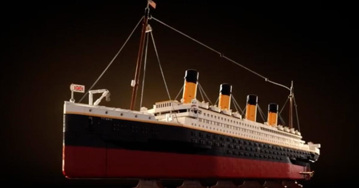 LEGO lancia il suo set più grande di sempre: è quello del Titanic