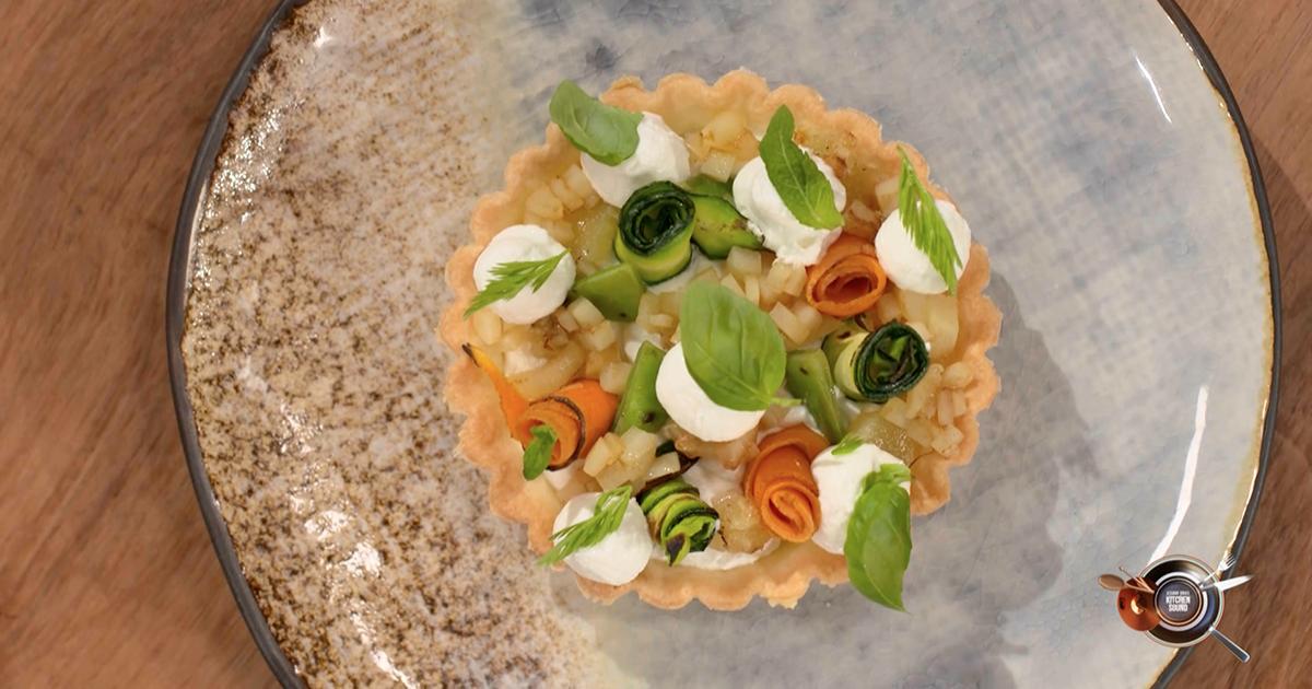 Crostatina di verdure - Alessandro Borghese Kitchen Sound - KIDS