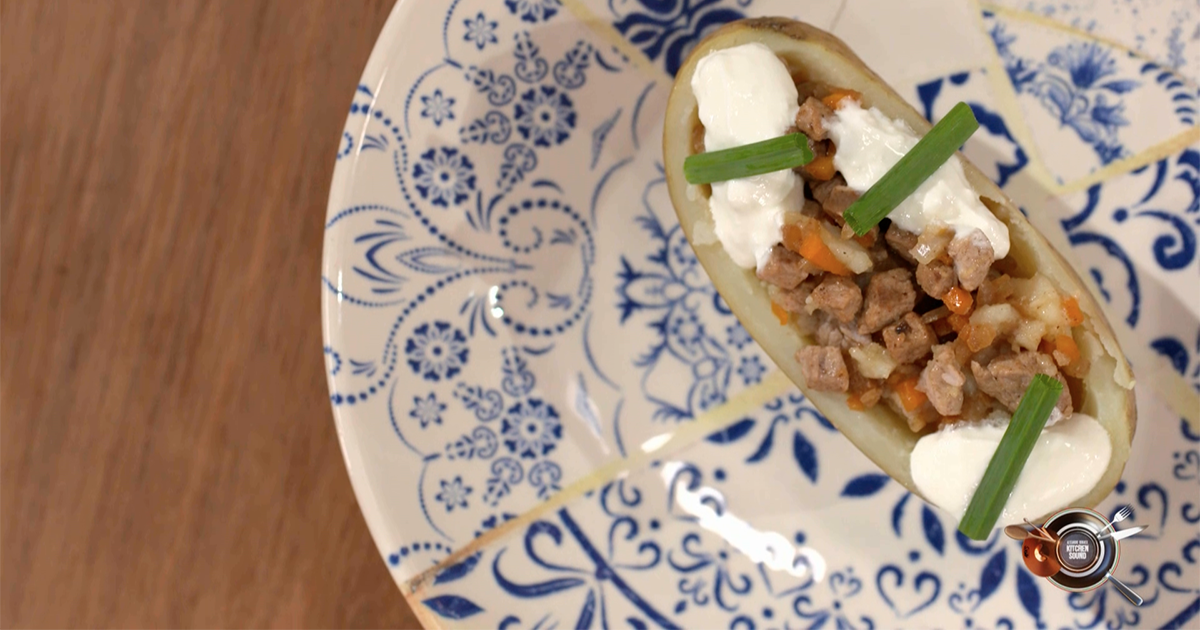Barchetta di patate - Alessandro Borghese Kitchen Sound - KIDS